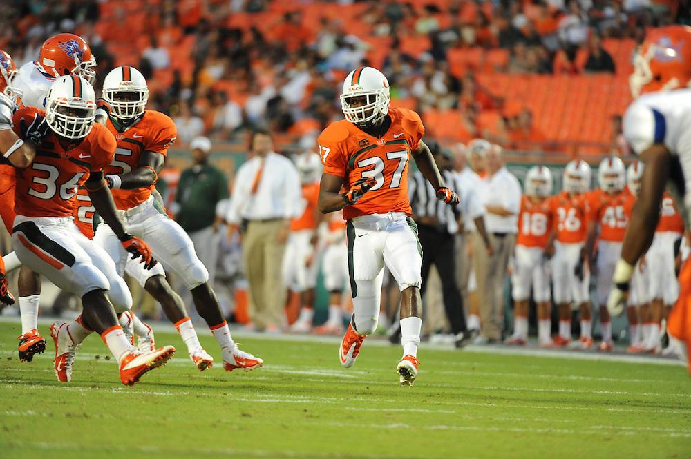 2013 Miami Hurricanes Football vs Savannah State