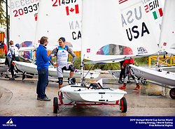 From 27 January to 3 February 2019, Miami will host sailors for the second round of the 2019 Hempel World Cup Series in Coconut Grove. More than 650 sailors from 60 nations will race across the 10 Olympic Events. ©TOMAS MOYA/SAILING ENERGY/WORLD SAILING<br /> 30 January, 2019.