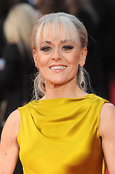 Tracie Bennett attends The Olivier Awards 2016 at the Royal Opera House in London. 3rd April 2016. EXPA Pictures © 2016, PhotoCredit: EXPA/ Photoshot/ Paul Treadway<br /> <br /> *****ATTENTION - for AUT, SLO, CRO, SRB, BIH, MAZ, SUI only*****