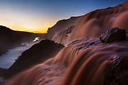 Grand Falls on the Little Colorado River.
