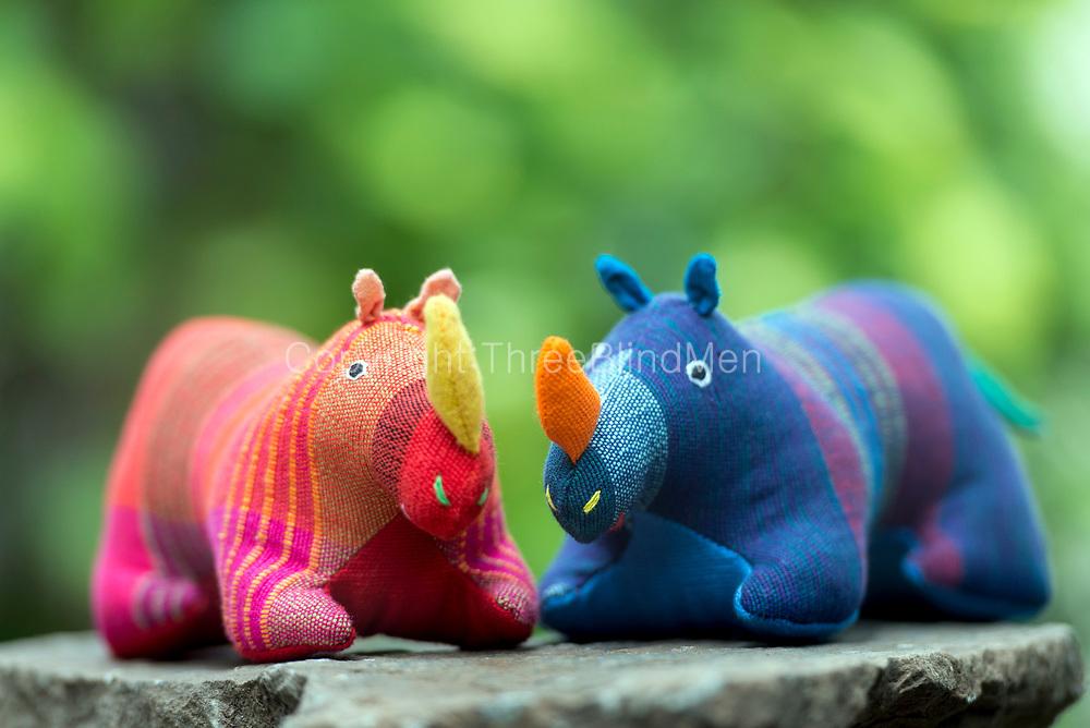 Barefoot soft toys. Ramba the Rhino