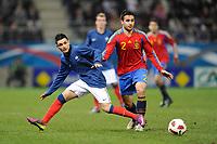 FOOTBALL - UNDER 21 - FRIENDLY GAME - FRANCE v SPAIN - 24/03/2011 - PHOTO GUILLAUME RAMON / DPPI  REMI CABELLA (FRA)
