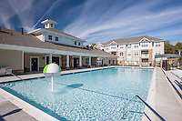 Architectural image of  Swimming Pool at the Reserve at Riverside Apartments by Jeffrey Sauers of Commercial Photographics