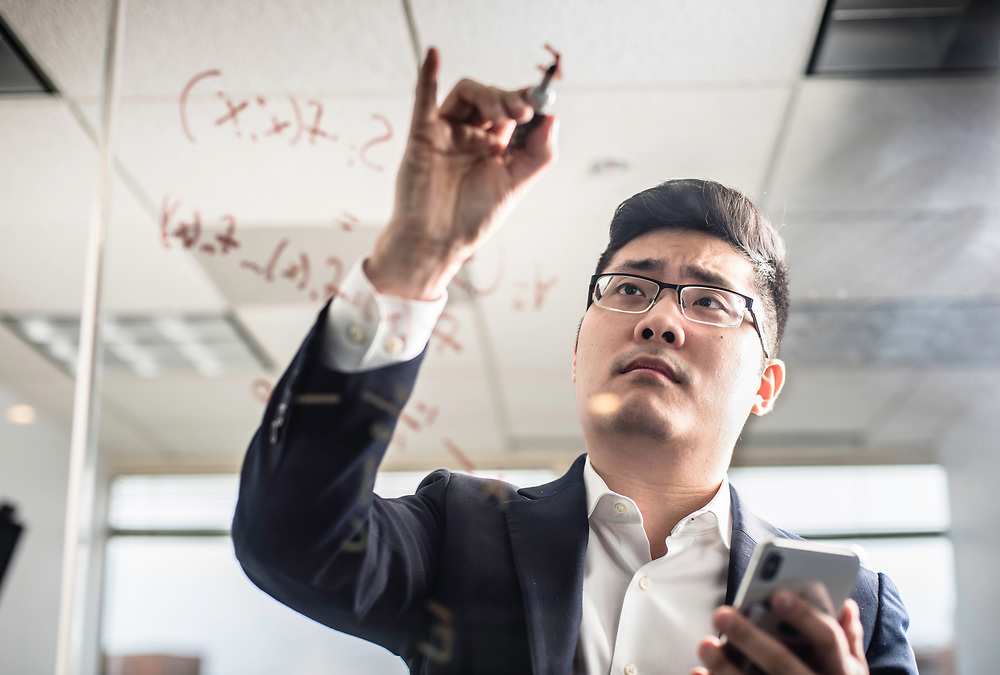 WASHINGTON, DC -- 12/6/17 -- Tim Hwang is the founder and CEO of FiscalNote which uses AI, analytics and natural language processing to automate and analyze government tasks and data…by André Chung #_AC16218