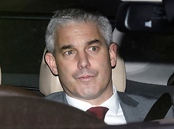 © Licensed to London News Pictures. 15/01/2019. London, UK. STEPHEN BARCLAY leaves Parliament in Westminster, London, Agree MPs rejected British Prime Minster Theresa May's proposed transition deal with the EU on the UK's exit from the European Union. Photo credit: Ben Cawthra/LNP