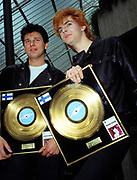 Duran Duran with Gold Disc