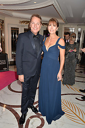 BRIAN CONLEY and his wife ANNE-MARIE at the annual PINKTOBER Gala presented by Hard Rock Heals at The Dorchester, Park Lane, London on 14th October 2016.  The annual event raises money for The Caron Keating Foundation.