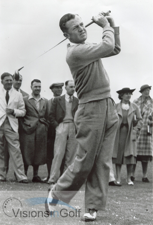 Bobby Locke, 1939<br /> <br /> Picture Credit: &copy;Visions In Golf / Michael Hobbs / Mark Newcombe