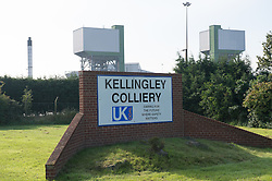 Entrance to Kellingley Colliery, North Yorkshire