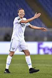 February 14, 2019 - Rome, Rome, Italy - Lucas Leiva of Lazio during the UEFA Europa League round of 32 match between Lazio and Sevilla at Stadio Olimpico, Rome, Italy on 14 February 2019. (Credit Image: © Giuseppe Maffia/NurPhoto via ZUMA Press)