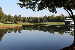 September 20, 2018 - Atlanta, GA, U.S. - ATLANTA, GA - SEPTEMBER 20: A scenic view of East Lake Golf Club before the first round of the PGA Tour Championship on September 20, 2018, at East Lake Golf Club in Atlanta, GA. (Photo by Michael Wade/Icon Sportswire) (Credit Image: © Michael Wade/Icon SMI via ZUMA Press)