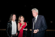 IVOR BRAKA; SARAH BRAKA; HENRY WYNDHAM, Damien Hirst, Tate Modern: dinner. 2 April 2012.