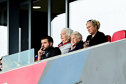 Jon Lansdown and Marina Dolman watches the match  - Mandatory by-line: Ryan Hiscott/JMP - 07/09/2019 - FOOTBALL - Ashton Gate - Bristol, England - Bristol City Women v Brighton and Hove Albion Women - FA Women's Super League