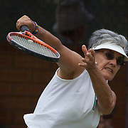 Janine Lieffrig, South Africa, Winning the 70 Womens Singles Final during the 2009 ITF Super-Seniors World Team and Individual Championships at Perth, Western Australia, between 2-15th November, 2009