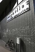 Prinses Amalia gaat vanaf komend schooljaar naar het Christelijk Gymnasium Sorghvliet in Den Haag. Op de foto de school, waar momenteel verbouwingswerkzaamheden ziujn.<br /> <br /> Princess Amalia goes from coming school at the Christian school Sorghvliet in The Hague. The photo shows the school where currently construction work is.