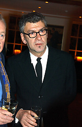 Artist JACK VETTRIANO at a party to celebrate a book of work by artist Jack Vettriano held at The Bluebird Club & Dining Room, 350 Kings Road, London on 7th December 2004.<br /><br />NON EXCLUSIVE - WORLD RIGHTS