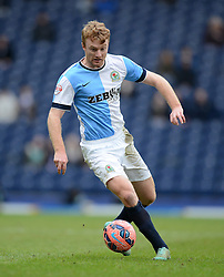 Blackburn Rovers's Chris Taylor in action - Photo mandatory by-line: Richard Martin Roberts/JMP - Mobile: 07966 386802 - 24/01/2015 - SPORT - Football - Blackburn - Ewood Park - Blackburn Rovers v Swansea City - FA Cup Fourth Round
