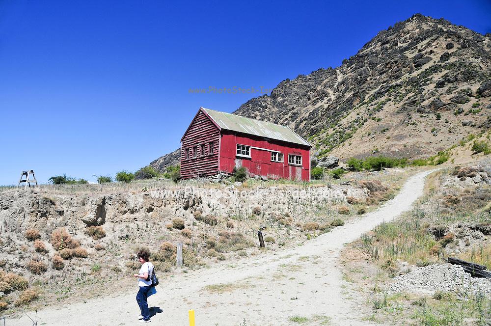 New Zealand, South Island, Kawarau Gorge Gold Mining Centre