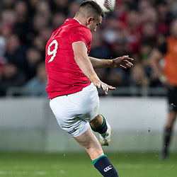 Conor Murray during game 9 of the British and Irish Lions 2017 Tour of New Zealand, the second Test match between  The All Blacks and British and Irish Lions, Westpac Stadium, Wellington, Saturday 1st July 2017<br /> (Photo by Kevin Booth Steve Haag Sports)<br /> <br /> Images for social media must have consent from Steve Haag