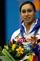 Friidrett<br /> Foto: Dppi/Digitalsport<br /> NORWAY ONLY<br /> <br /> ATHLETICS - IAAF WORLD INDOOR CHAMPIONSHIPS 2004 - BUDAPEST (HUN) - 5-7/03/2004 <br /> WOMEN'S 60 M - KIM GEVAERT - BELGIA - SILVER MEDAL