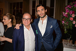 Left to right, Touker Suleyman and Mark-Francis Vandelli at the Debrett's 500 Party recognising Britain's 500 most influential people, held at BAFTA, 195 Piccadilly, London England. 23 January 2017.<br /> No UK magazines - contact www.silverhubmedia.com
