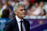 Gerard Precheur of Olympique Lyon during the UEFA Women's Champions League Final between Lyon Women and Paris Saint Germain Women at the Cardiff City Stadium, Cardiff, Wales on 1 June 2017. Photo by Giuseppe Maffia.<br /> <br /> <br /> Giuseppe Maffia/UK Sports Pics Ltd/Alterphotos
