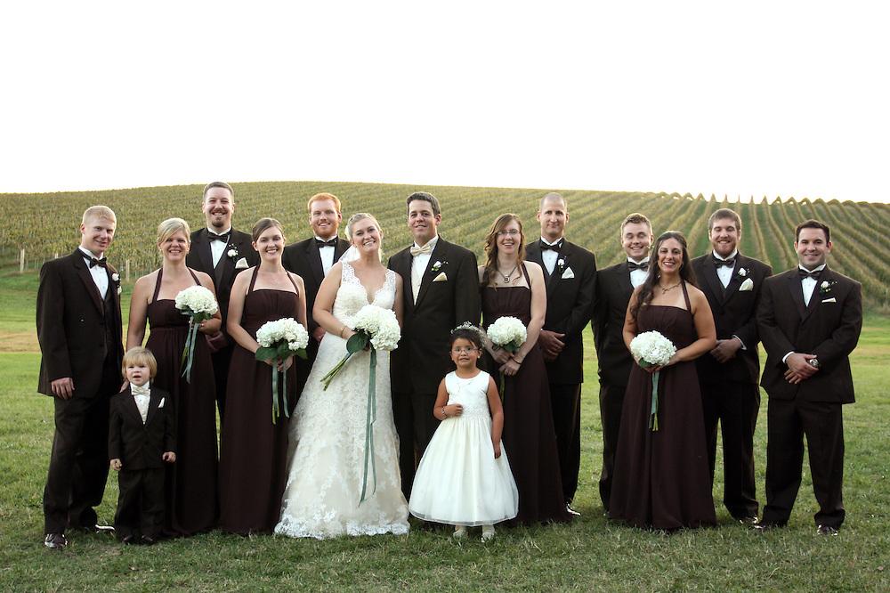 Caitlin & Michael's Wedding, Kluge Vineyards, Charlottesville, VA