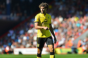 Aston Villa's Rudy Gestede during the Barclays Premier League match between Bournemouth and Aston Villa at the Goldsands Stadium, Bournemouth, England on 8 August 2015. Photo by Mark Davies.