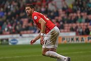 Coventry City defender Aaron Martin  during the Sky Bet League 1 match between Sheffield Utd and Coventry City at Bramall Lane, Sheffield, England on 13 December 2015. Photo by Simon Davies.