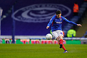 Steve Seddon of Portsmouth in action during the EFL Sky Bet League 1 match between Portsmouth and Shrewsbury Town at Fratton Park, Portsmouth, England on 15 February 2020.
