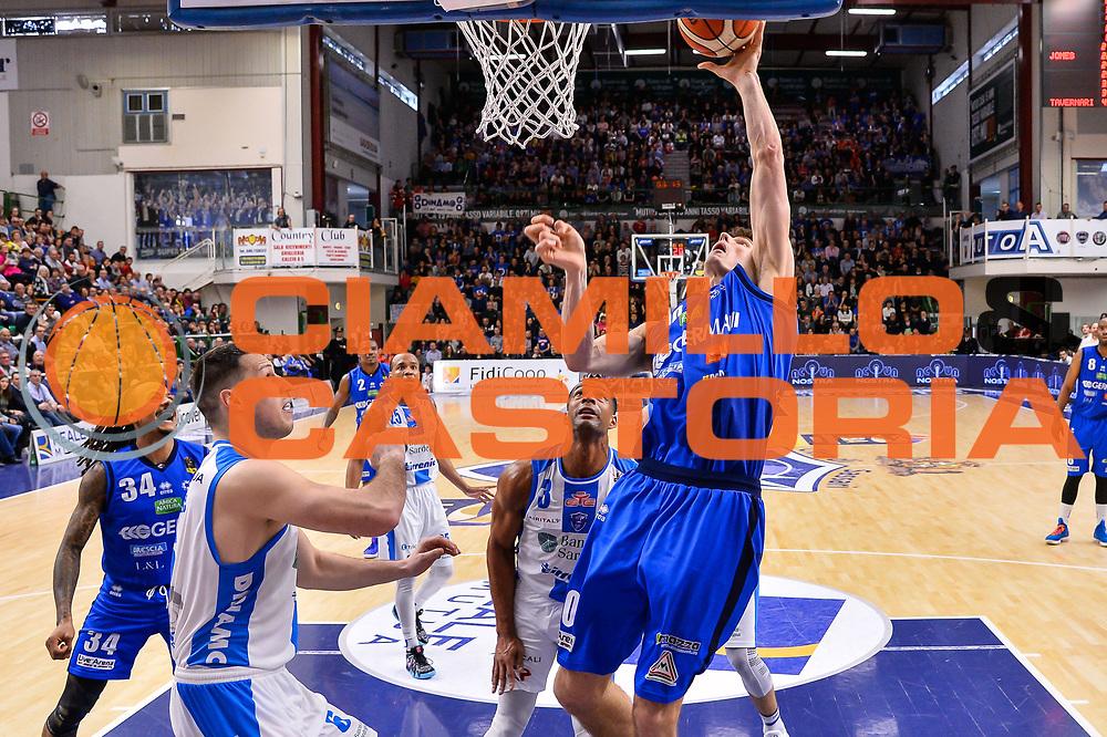 Benjamin Ortner<br /> Banco di Sardegna Dinamo Sassari - Germani Basket Leonessa Brescia<br /> Legabasket Serie A LBA PosteMobile 2017/2018<br /> Sassari, 08/04/2018<br /> Foto L.Canu / Ciamillo-Castoria