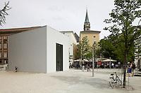 """""""A.E.I.O.U."""" Anselm Kiefer Pavillon, Max Reinhardt Platz, Salzburg"""