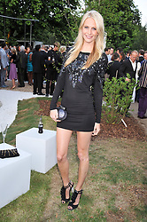 POPPY DELEVINGNE at the annual Serpentine Gallery Summer Party sponsored by Canvas TV  the new global arts TV network, held at the Serpentine Gallery, Kensington Gardens, London on 9th July 2009.