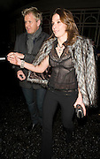 08.DECEMBER.2009 - LONDON<br /> <br /> CELEBRITY CHEF GORDON RAMSEY AND HIS WIFE TANA LEAVE THE CONNAUGHT HOTEL AFTER ATTENDING THE HARPERS BIZARRE PRIVATE DINNER.<br /> <br /> BYLINE MUST READ: EDBIMAGEARCHIVE.COM<br /> <br /> *THIS IMAGE IS STRICTLY FOR UK NEWSPAPERS & MAGAZINES ONLY*<br /> *FOR WORLDWIDE SALES & WEB USE PLEASE CONTACT EDBIMAGEARCHIVE-0208 954 5968*