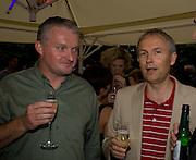 HAMISH MYKURA; LUKE JOHNSON, Film 4 Summer Screen at Somerset House. guillermo del Toro's Hellboy 11: The Golden Army. 31 July 2008. *** Local Caption *** -DO NOT ARCHIVE-© Copyright Photograph by Dafydd Jones. 248 Clapham Rd. London SW9 0PZ. Tel 0207 820 0771. www.dafjones.com.