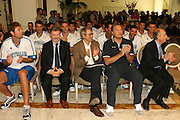 Milano, 18/07/2007<br /> Basket, Nazionale Italiana Maschile Senior<br /> Media Day Conferenza Stampa Hotel Visconti<br /> Nella foto: team italia<br /> Foto Ciamillo