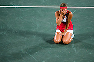 Monica Puig of Puerto Rico wins the Gold Medal in the Women's Tennis Singles on day eight of the XXXI 2016 Olympic Summer Games in Rio de Janeiro, Brazil.<br /> Picture by EXPA Pictures/Focus Images Ltd 07814482222<br /> 13/08/2016<br /> *** UK & IRELAND ONLY ***<br /> <br /> EXPA-EIB-160814-0015.jpg
