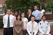 17743Templeton Scholars: H&S and Group photo:Alexandria Moore,Corbin Sykes,Dionna Baker,James Harris.17743Templeton Scholars: H&S and Group photo:Chris Flowers,Starla Ford,Jessica Tyroler, Michael Pipkin,Nikko Godoy