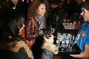 Elaine Welteroth at the Common Celebration Capsule Line Launch with Softwear by Microsoft at Skylight Studios on December 3, 2008 in New York City..Microsoft celebrates the launch of a limited-edition capsule collection of SOFTWEAR by Microsoft graphic tees designed by Common. The t-shirt  designs. inspired by the 1980's when both Microsoft and and Hip Hop really came of age, include iconography that depicts shared principles of the technology company and the Hip Hop Star.