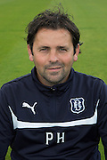 Dundee manager Paul Hartley - Dundee FC headshots <br />  - &copy; David Young - www.davidyoungphoto.co.uk - email: davidyoungphoto@gmail.com