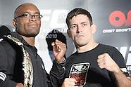 """UFC 112: """"Invincible"""" - Pre Fight Press Conference"""