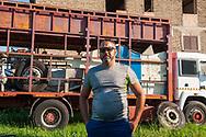 Fosso San Giuliano (Roma), 26/06/2020: William della Santina, 41 anni, è fermo da settembre 2019.<br /> © Andrea Sabbadini