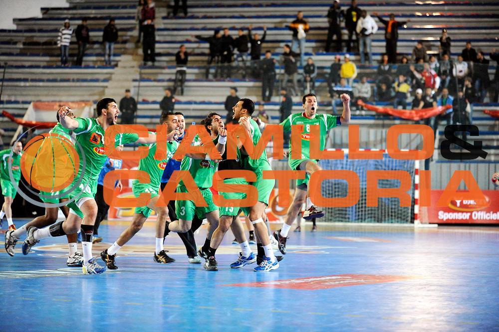 DESCRIZIONE : France Hand Coupe Afrique des Nations Homme Maroc Rabat<br /> GIOCATORE : <br /> SQUADRA : Algerie<br /> EVENTO : FRANCE Hand CAN<br /> GARA : Algerie Egypte<br /> DATA :19/01/2012<br /> CATEGORIA : Hand CAN<br /> SPORT : Handball<br /> AUTORE : JF Molliere <br /> Galleria : France Hand 2011-2012 Action<br /> Fotonotizia : CAN Hand RABAT Maroc<br /> Predefinita :
