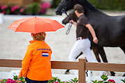 Toeschouwer<br /> Excellent Dressage Sales<br /> Longines FEI/WBFSH World Breeding Dressage Championships for Young Horses 2016<br /> © DigiShots