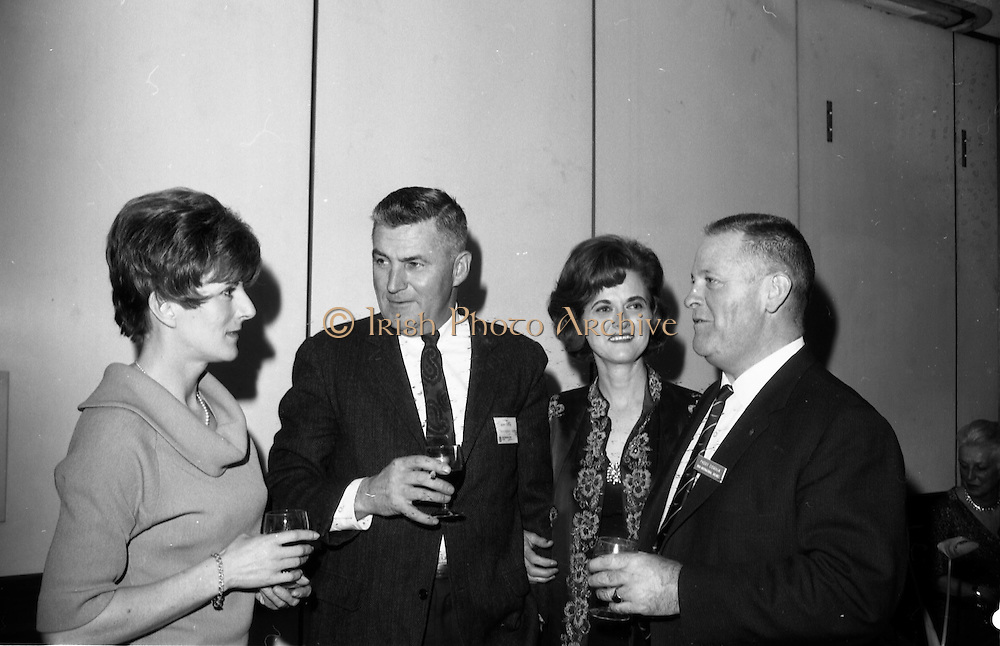 26/03/1966<br /> 03/26/1966<br /> 26 March 1966<br /> U.S. travel agents reception at the Intercontinental Hotel, Dublin. Paddy Condon on right.