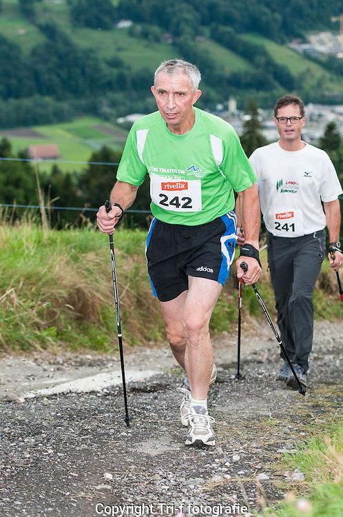 Nordic Walker am 28. Berglauf Malters-Schwarzenberg-Mösere