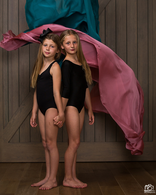The Dance Company of Los Gatos dancers pose for portraits during Competition Photo Day at TDC in Los Gatos, California, on June 13, 2016. (Stan Olszewski/SOSKIphoto)