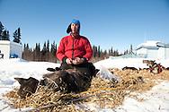 Photographs of John Baker's 2011 Iditarod run. Anvik checkpoint. Stephen Nowers/Alaska Dispatch.
