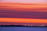USA, New York, Staten Island, Brooklyn, Verrazano-Narrows Bridge
