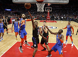 March 8, 2019 - Los Angeles, California, U.S - Los Angeles Clippers' Lou Williams (23) goes to basket during an NBA basketball game between Los Angeles Clippers and Oklahoma City Thunder Friday, March 8, 2019, in Los Angeles. (Credit Image: © Ringo Chiu/ZUMA Wire)